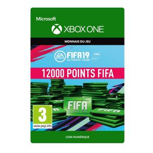 EXTENSION - CODE DLC FIFA 19 Ultimate Team : 12000 pts pour Xbox On
