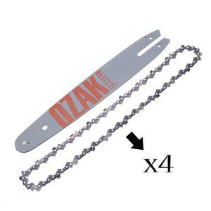 """Guide de Tronçonneuse /""""30cm/"""" 45 1.3- 2x 12/"""" Chaine  3//8LP"""