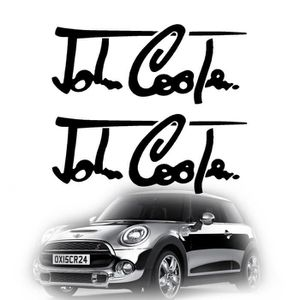 sticker mini cooper achat vente sticker mini cooper pas cher les soldes sur cdiscount. Black Bedroom Furniture Sets. Home Design Ideas
