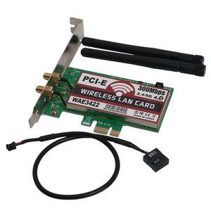 CARTE RÉSEAU  X-SOURCE Carte Wifi sans fil PCI-E Express 300Mbps