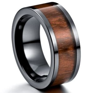 bague homme anthracite