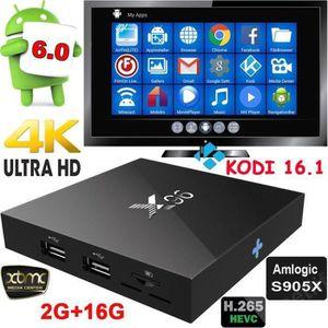 BOX MULTIMEDIA X96 TV Box S905X RAM 2GB ROM 16GB Quad Core Androi