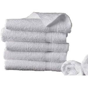 SERVIETTES DE BAIN 5 serviettes de bain 50x100 cm 500gr/m² pur coton