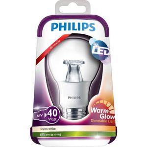 AMPOULE - LED PHILIPS Ampoule LED E27 6W équivalence 40W