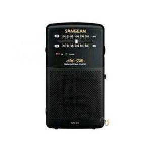 RADIO CD CASSETTE SANGEAN SR35 Radio compacte Pocket - Noir