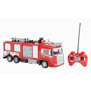 RADIOCOMMANDE POUR DRONE WORLD TECH TOYS - Camion Pompier Radiocommandé