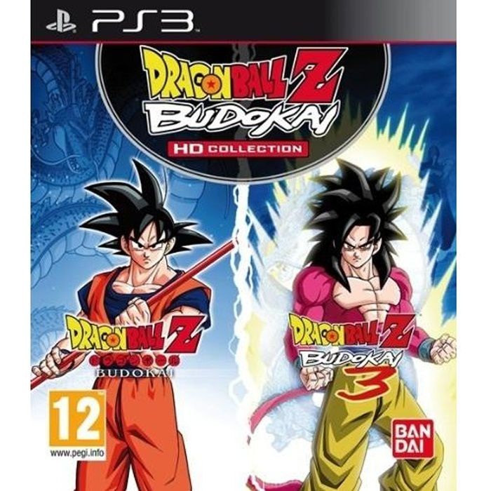 JEU PS3 DRAGON BALL Z BUDOKAI HD COLLECTION / PS3