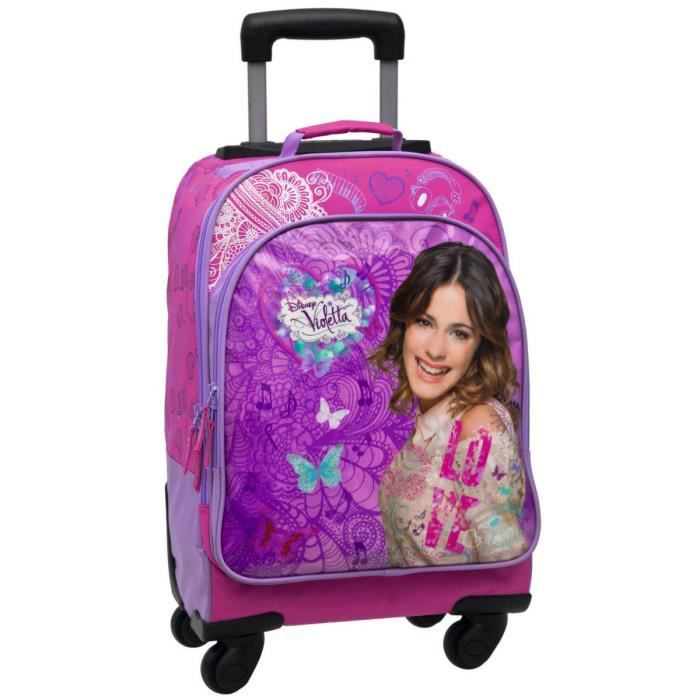 cute school bags sac d ecole violetta a roulette. Black Bedroom Furniture Sets. Home Design Ideas