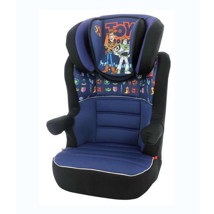 Siège auto rehausseur enfant RWAY groupe 2-3 (15-36kg), évolutif avec protection latérale - Toy Story