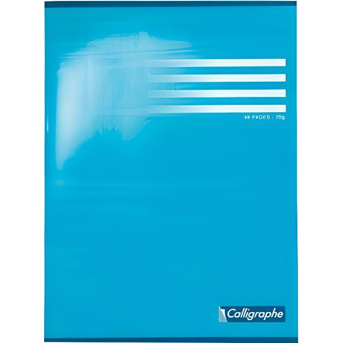 Cahier album dessin 24x32 70g uni blanc 48p