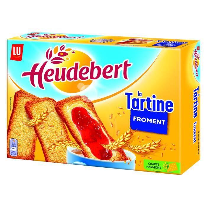 HEUDEBERT Pain grillé tartine 325g