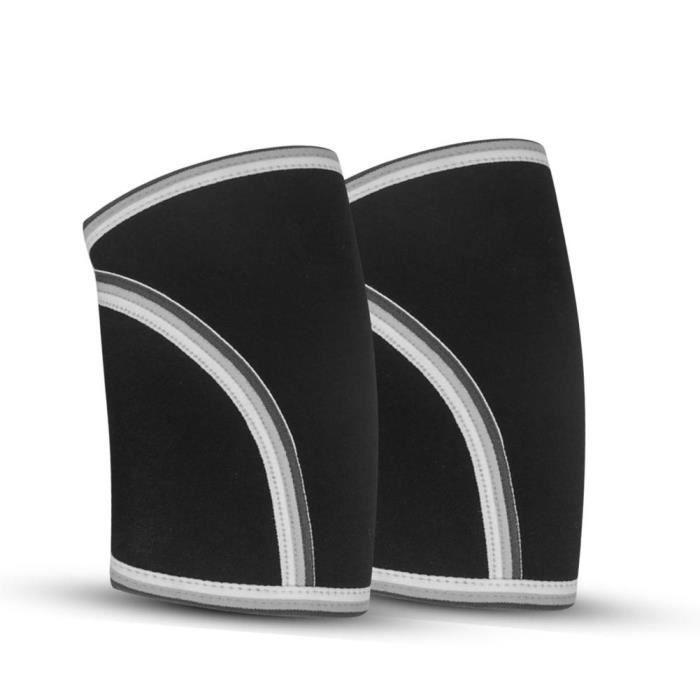 PROTEGE-CHEVILLES - CHEVILLERE,1 paire de manches coudières 7mm Support de manches coudières haute Performance pour - Type S