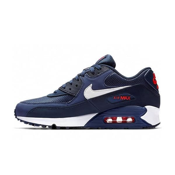 Chaussures de Running Airs Max 90 Essential Bleu pour Homme