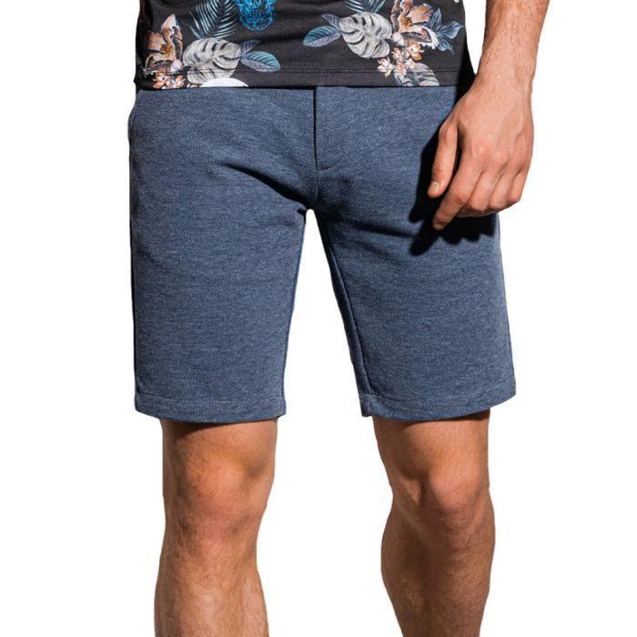 Short chino homme Short W224 bleu marine