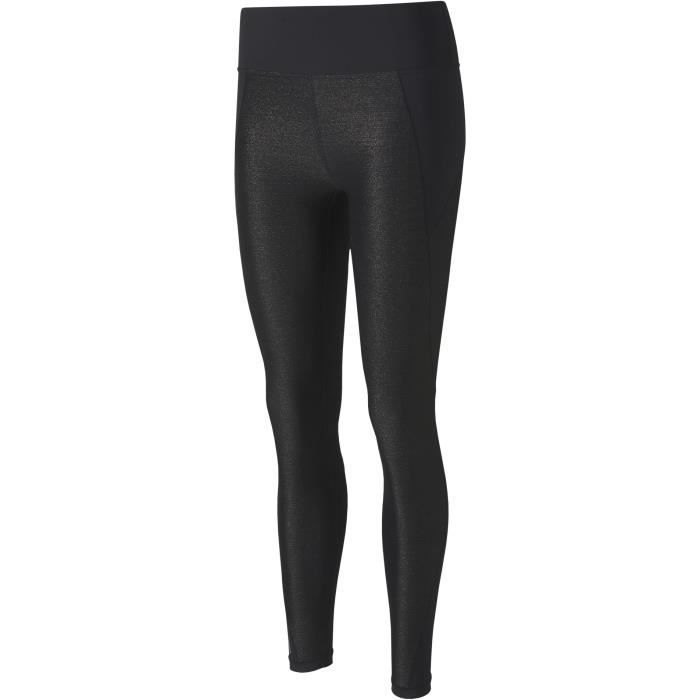 Legging de sport - 7/8 - Taille haute - PUMA - Studio Metallic - Noir