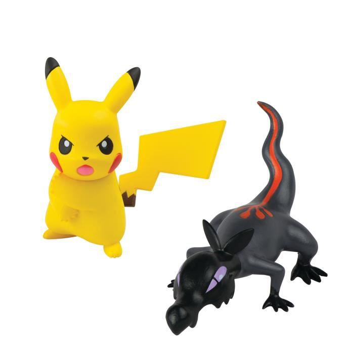 POKEMON Figurines Pikachu VS Tritox