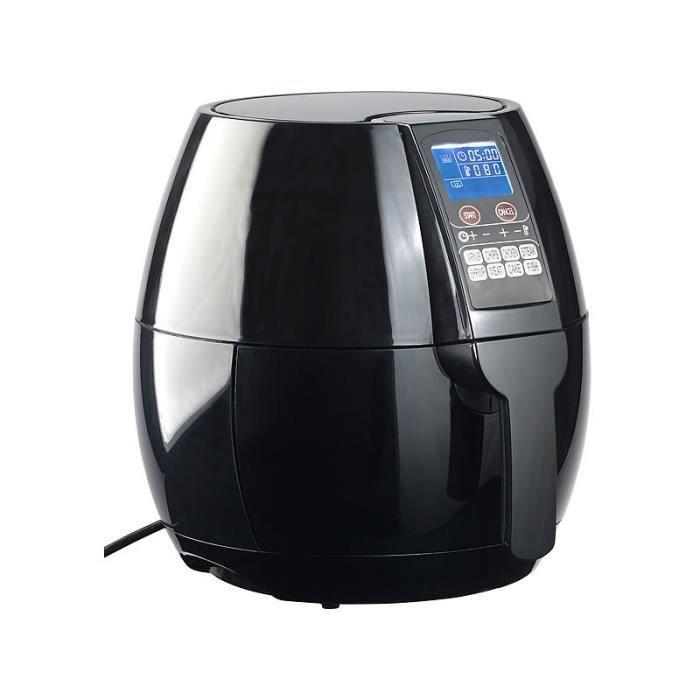 Friteuse digitale multifonction à air chaud HF-318.p 1400 W / 8 programmes