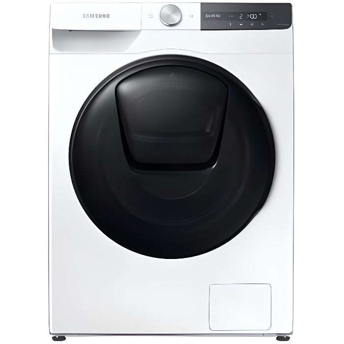 SAMSUNG Lave-Linge Frontal 9KG - WW90T754DBT - Quick Drive - Ecobubble - 1400 Tr/mn - A+++