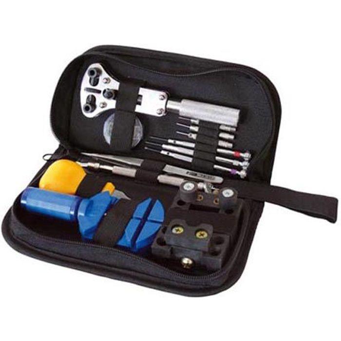 Horloger outil Box Set 16stk Trousse à Outils mini tournevis mécanique de précision