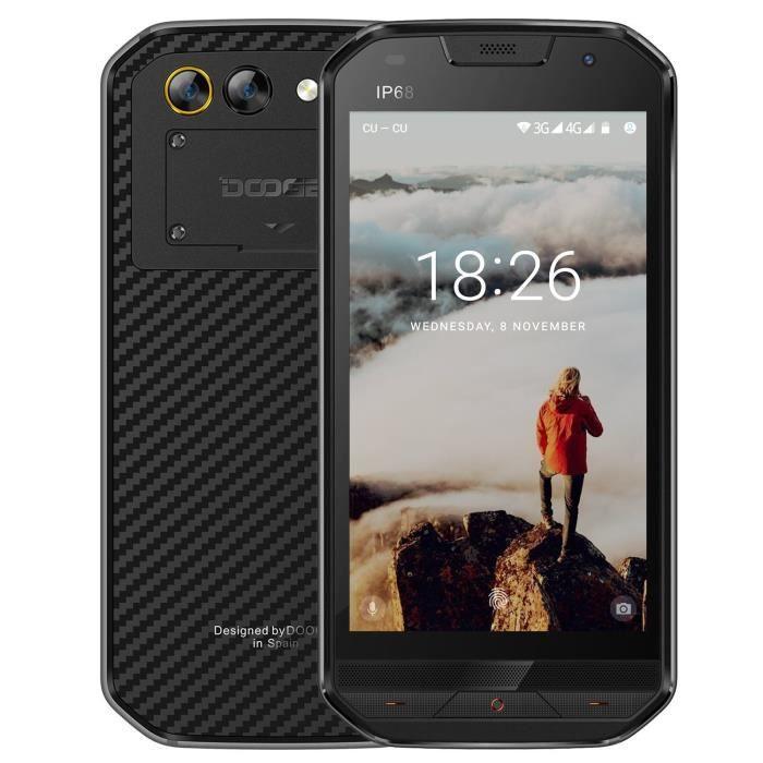 SMARTPHONE DOOGEE S30 Smartphone 4G Étanche Antichoc Antipous