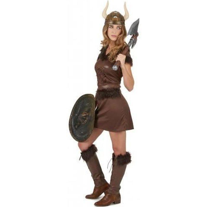 D/éguisement Viking et une /ép/ée D/éguisement Viking pour FEMME Y Compris Disponible en 5 taille