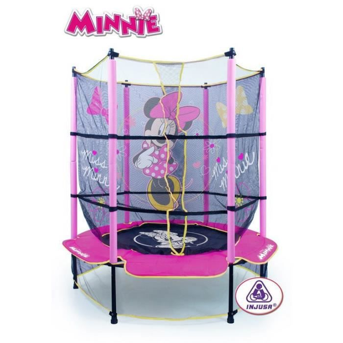 minnie bow tique trampoline achat vente trampoline cdiscount. Black Bedroom Furniture Sets. Home Design Ideas