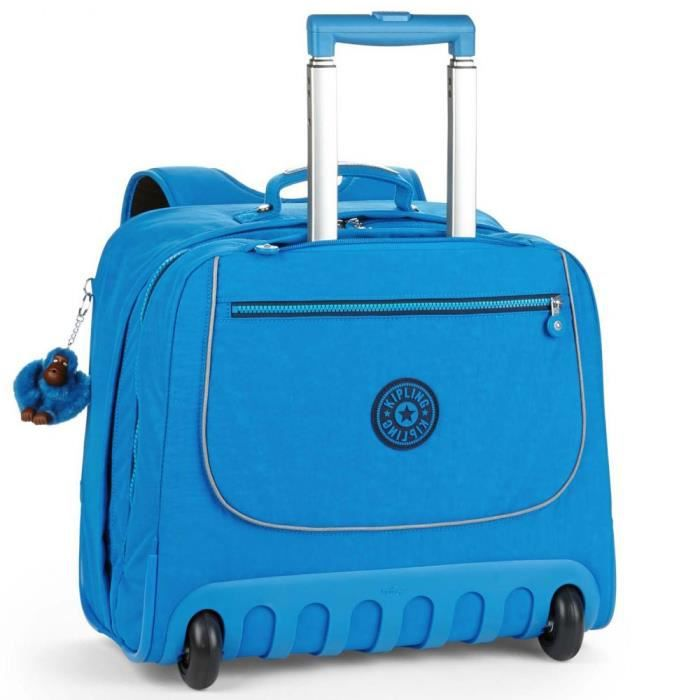 Cartable à roulettes Kipling Clas Dallin Blue Green Mix  43 CM