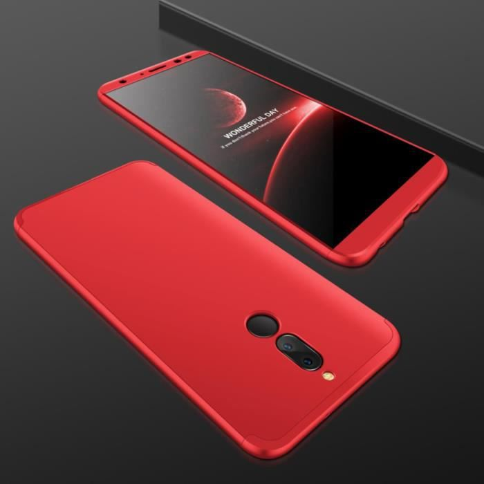 huawei mate 10 lite coque rouge
