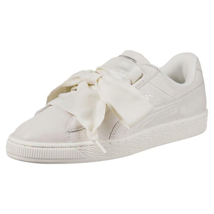 chaussure puma beige