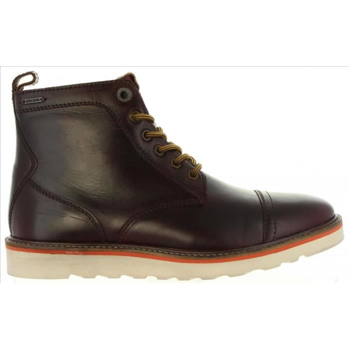 Bottes pour Homme PEPE JEANS PMS50149 BARLEY 873 BARK 7M6jWsB