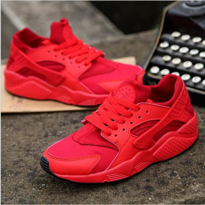 Femme Homme Lovers Baskets Chaussures Jogging Course Gym Fitness Sport Lacet Sneakers air Running Taille 36-46