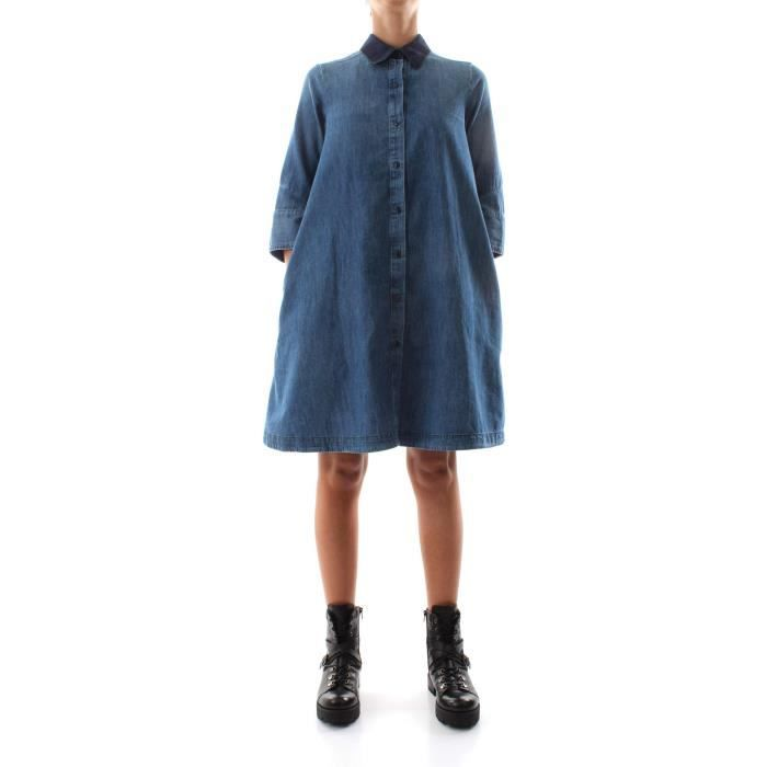 3040642bac7ea G-STAR ROBE Femme DENIM MEDIUM BLUE Denim medium blue - Achat ...