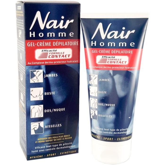 NAIR Crème dépilatoire gel-crème formule contact pour ...