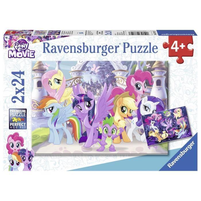 PUZZLE Ravensburger My Little Pony Puzzle-Poneys Magiques