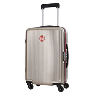 VALISE - BAGAGE BAGSTONE Valise Cabine Rigide Goldy - 4 Roues - Be