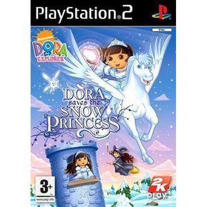 JEU PS2 DORA SAVES THE SNOW PRINCESS / Jeu console PS2