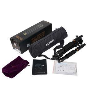 TRÉPIED ZOMEI Q666 Portable Trépied Professionnel et Rotul