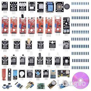 CARTE MÈRE T30 45-in-1 Sensors Modules Starter Kit for Arduin