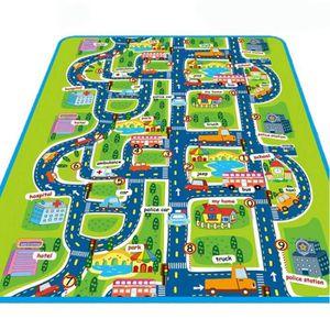 TAPIS DE JEU 1 Pcs Enfants bébé jouets tapis ville route tapis