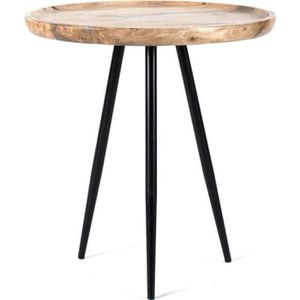 TABLE D'APPOINT Maika Home Guéridon Chervey Table d'Appoint Ronde