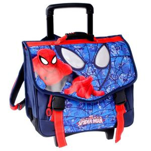 CARTABLE Cartable à roulettes Spiderman Eyes Trolley 41 CM