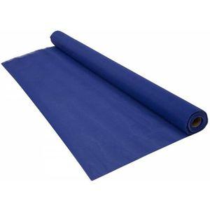 CLÔTURE - GRILLAGE Brise vue renforcé bleu, 70% occultant, longueur 5