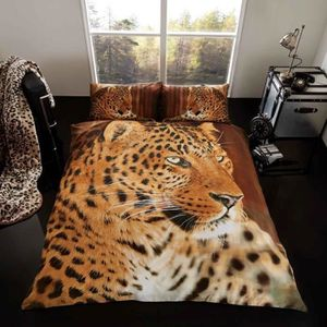 housse de couette leopard 200x200 achat vente housse. Black Bedroom Furniture Sets. Home Design Ideas
