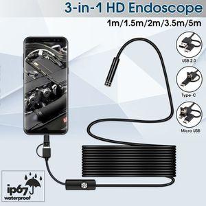 ENDOSCOPE NUMÉRIQUE SHAN TEMPSA Micro Endoscope USB 3 En 1 7mm Type C