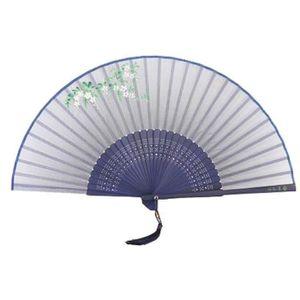 OBJET DÉCORATIF Ventilateur pliant de style chinois Ventilateur à