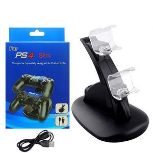CHARGEUR CONSOLE Chargeur de manette de jeu PS4 Support de charge p