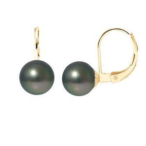 Boucle d'oreille PERLINEA Boucles d'Oreilles Dormeuses Perles de Ta