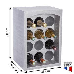 PORTE-BOUTEILLE Casier à bouteille/support bouteille modulable en
