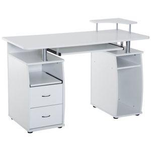MEUBLE INFORMATIQUE Bureau pour ordinateur table meuble PC informatiqu