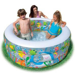 PATAUGEOIRE Piscine gonflable Aquarium Intex